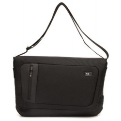 DOT_COM BORSA MESSENGER PORTA PC E IPAD COLORE NERO - NAVA DESIGN DC011N