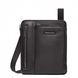Borsello porta iPad®Air/Air2, doppia tasca frontale, tasca per lettore mp3 e passante per auricolari Modus - Piquadro CA1816MO/N