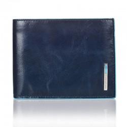 Portafoglio uomo blue square - Piquadro PU1392B2/BLU2