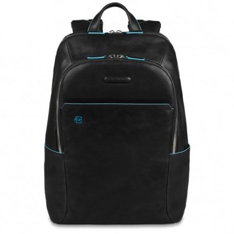 Zaino porta PC/iPad®/iPad®mini imbottito Blue Square colore nero - PIQUADRO CA3214B2/N