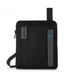 Borsello organizzato con scomparto porta iPad Air/Air2 P16 colore nero - PIQUADRO CA1358P16/N