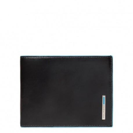 Portafoglio uomo con dodici porta carte di credito Blue Square colore nero - Piquadro PU1241B2/N