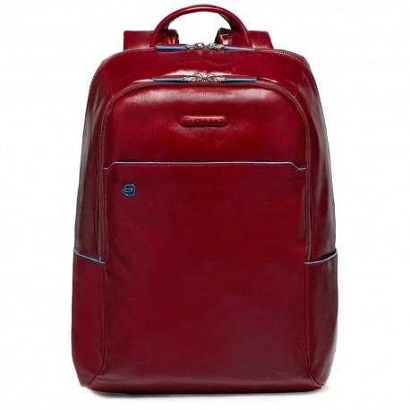 Zaino porta PC/iPad®/iPad®mini imbottito Blue Square colore rosso - PIQUADRO CA3214B2/R