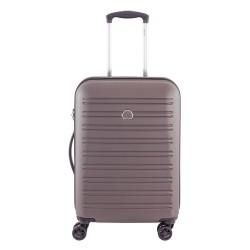SEGUR Valigia trolley da cabina 4 doppie ruote 55 cm, colore castagna - DELSEY 00203880126