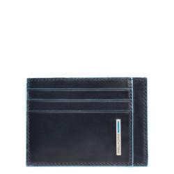 Porta carte di credito linea Blue Square colore blu - Piquadro PP2762B2/BLU2