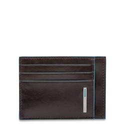 Porta carte di credito linea Blue Square colore mogano - Piquadro PP2762B2/MO