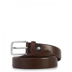 Cintura uomo in pelle con fibbia ad ardiglione colore marrone - PIQUADRO CU3902C56/M