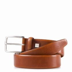 Cintura 35 mm in pelle Cinture Coll.56 colore arancio - PIQUADRO CU4212C56/AR