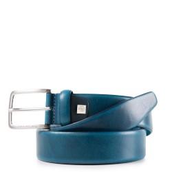 Cintura 35 mm in pelle Cinture Coll.56 colore blu - PIQUADRO CU4212C56/BLU