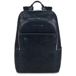 Zaino porta PC/iPad®/iPad®mini imbottito Blue Square colore blu - PIQUADRO CA3214B2/BLU2