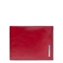 Portafoglio uomo con portamonete Blue Square colore rosso - Piquadro PU257B2/R