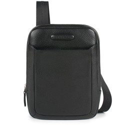 Borsello organizzato con scomparto porta iPad®mini Modus colore nero - PIQUADRO CA3084MO/N