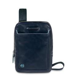 Borsello organizzato porta iPad®mini Blue Square colore blu - PIQUADRO CA3084B2/BLU2