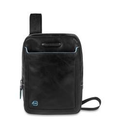 Borsello organizzato porta iPad®mini Blue Square colore nero - PIQUADRO CA3084B2/N