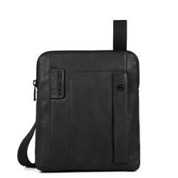 Borsello organizzato con scomparto porta iPad®Air/Pro 9,7 P15Plus colore nero - PIQUADRO CA1358P15S/N