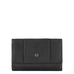 Portafoglio donna grande Circle colore nero - PIQUADRO PD4152W92R/N
