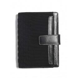 Organizer piccolo in tessuto e pelle One colore nero - PIQUADRO AG1077ONE/N