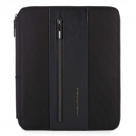 Portablocco con scomparto porta iPad®Air/Pro 9,7 e porta penne Brief colore nero - PIQUADRO PB4454BR/N
