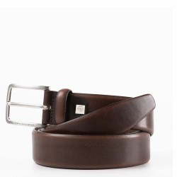 Cintura 35 mm in pelle Cinture Coll.56 colore marrone - PIQUADRO CU4212C56/M