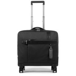 """Cartella trolley porta computer e porta iPad®10,5''/9,7"""" Hexagon colore nero - PIQUADRO BV4509W90/N"""