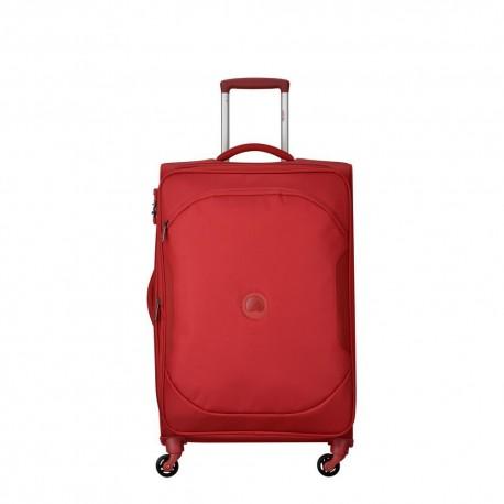 Valigia trolley media espandibile 4 ruote 68 cm U-LITE CLASSIC 2 rossa - DELSEY 00324681004