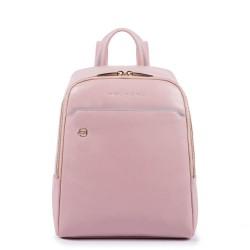 Zaino piccolo in pelle Blue Square colore rosa cipria - PIQUADRO CA4233B2/RO3