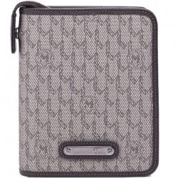 Organizer tascabile con cerniera, 4 tasche porta carte di credito e passanti per penna in tessuto NightFlight - Montblanc 107793