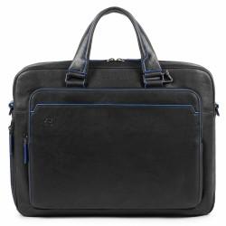 """Cartellina porta computer e porta iPad®10,5''/9,7"""" a due manici Blue Square Special colore nero - PIQUADRO CA4027B2S/N"""