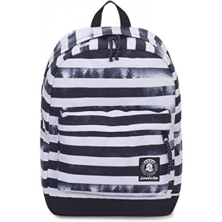 Zaino americano Carlson Fantasy black striped forest 27 litri - INVICTA 206001809-FO7