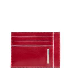 Porta carte di credito linea Blue Square colore rosso - Piquadro PP2762B2/R