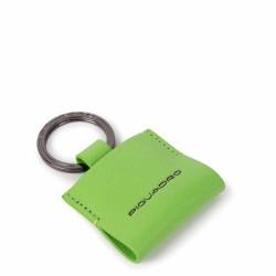 Portachiavi con CONNEQU Empire verde fluo - PIQUADRO AC4239EM/VE