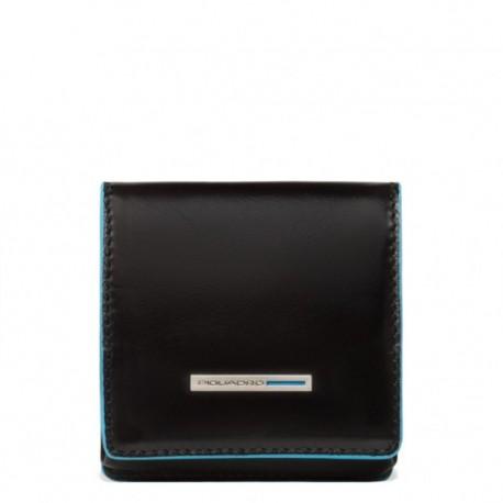Portamonete a tacco quadrato Blue Square - Piquadro PU2634B2/N